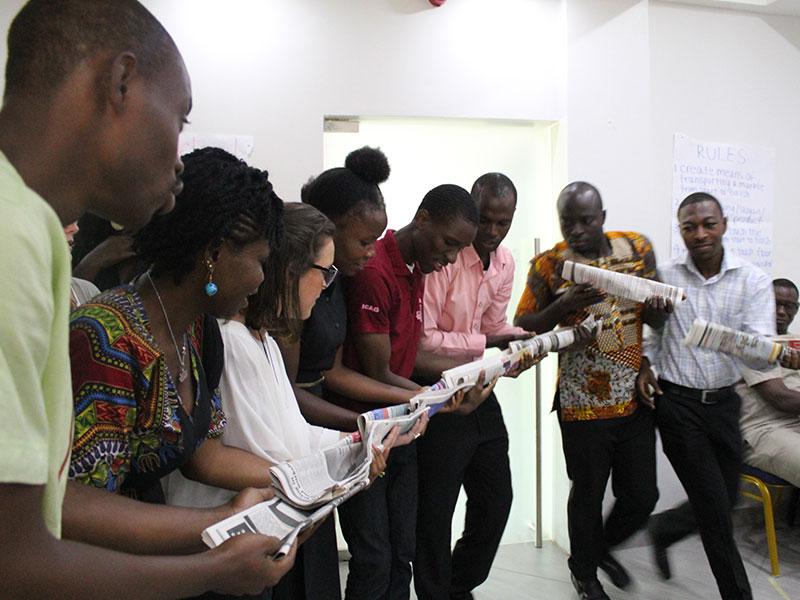 Entrepreneurial tranining in Ghana