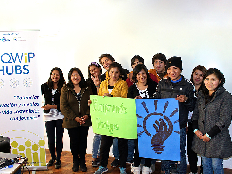 Youth Participants in Bolivia