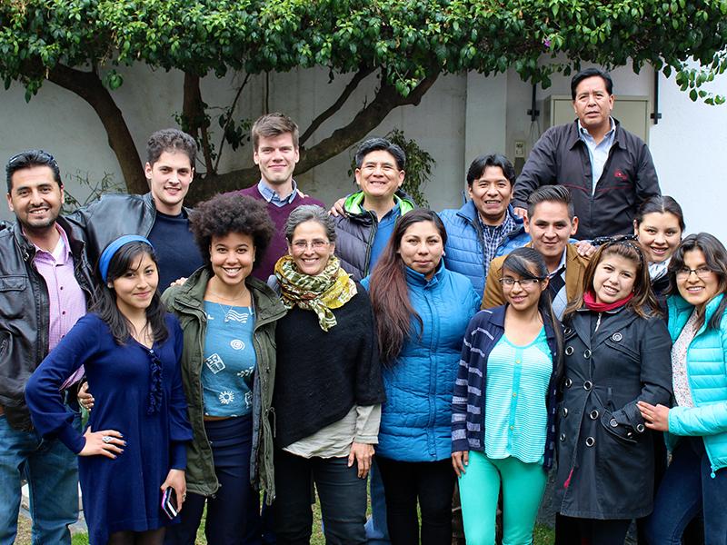The EQWIP HUBs Bolivia team