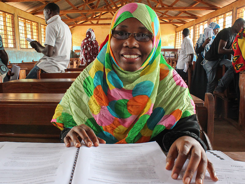 Facilitator of the first Leadership training in Zanzibar